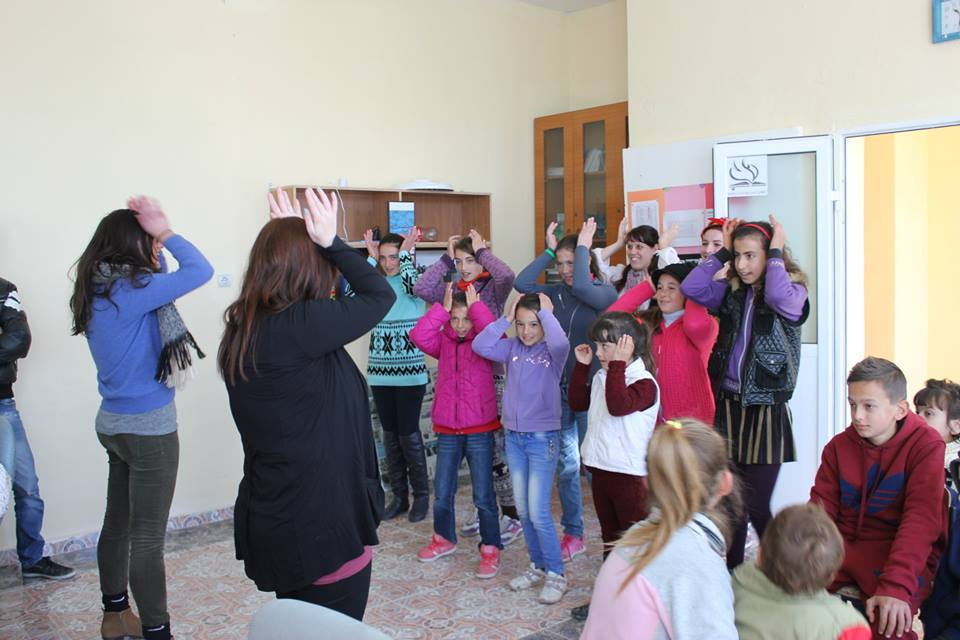 Working with Children in Albania